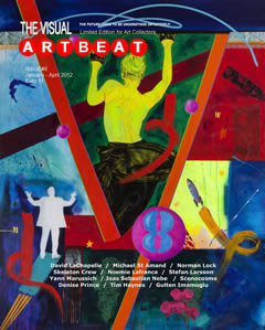 Michael St Amand  Visual ARTBEAT Cover Salzberg Austria